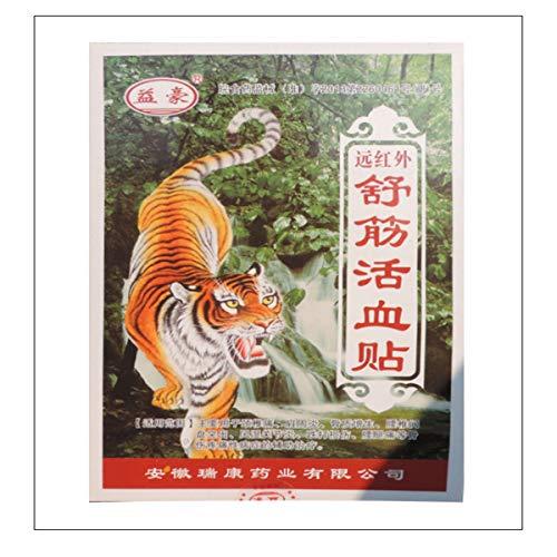 HELLOYOUNG 56 Pcs / 7Bags Tiger Balm Balm Pflaster Muskelsteife Schulterpflaster Gesundheitsprodukt Salben