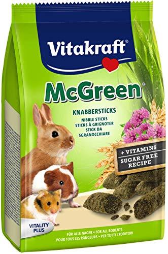 Vitakraft Mc green sticks a grignoter pour rongeur - 50...