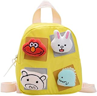 School Bag Cartoon Children Backpacks Kindergarten Schoolbag Animal Kids Backpack Children School Bags Girls Boys Backpacks Zhaozb (Color : Yellow)