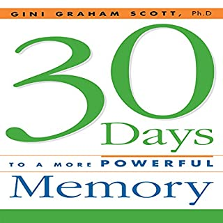 30 Days to a More Powerful Memory audiobook cover art