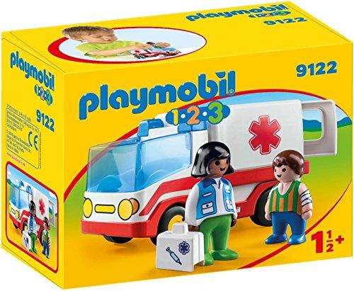 PLAYMOBIL 1.2.3 Ambulancia Juego con Accesorios
