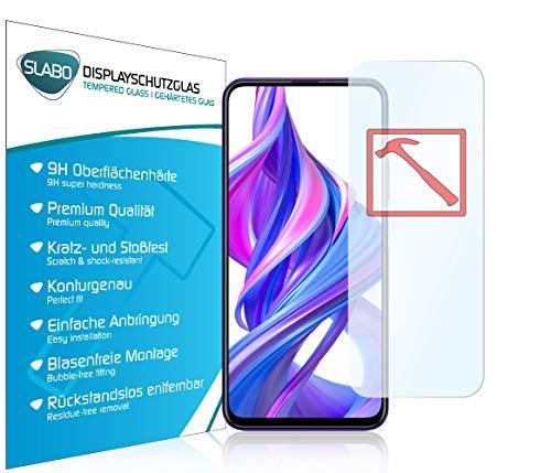 Slabo 3 x Premium Panzerglasfolie für Honor 9X | 9X Pro | Huawei P Smart Pro | P Smart Z | Y9 Prime 2019 Panzerfolie Schutzfolie Echtglas Folie Tempered Glass KLAR 9H Hartglas
