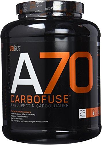 Starlabs Nutrition A70 Carbofuse Suplemento Nutricional, Melocotón - 2000 gr