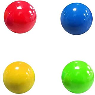 Sticky Stress Ball,Balls Can Be Glued to The Ceiling or on the Wall,Stress Relief Balls,Dodgeball Game Juggling Ball,Game ...