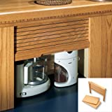 Omega National Products Appliance Garage Straight - Veneer Door Maple 30'