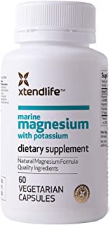 Sponsored Ad - Xtend-Life Marine Magnesium with Potassium Supplement - Natural Support for Cardiovascular Health, Bone Den...