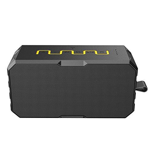 OPAKY Neuer drahtloser Bluetooth-Lautsprecher TF-Karte Mic Waterproof 2600mah Power Bank für iPhone, Samsung usw.