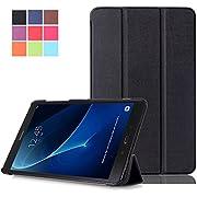 Samsung Galaxy Tab A6 10.1 Hülle - PU Leder Flip Cover Smart Case Stand Hülle für Samsung Galaxy Tab A 10.1 Zoll Wi-Fi/ LTE (2016) SM-T580N/SM-T585N Tablet Schutzhülle
