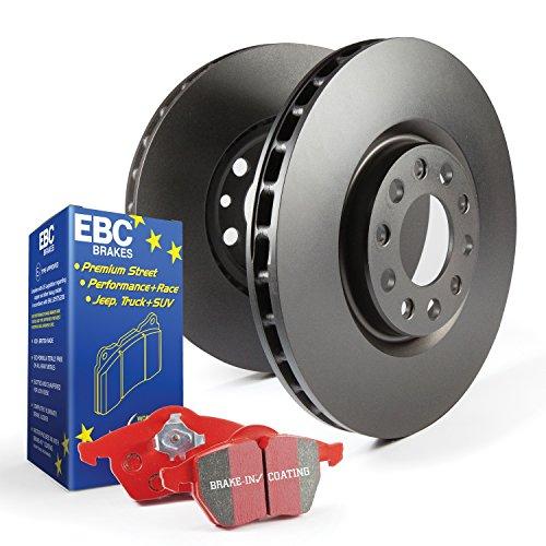 EBC frenos s12kf1445S12Kits Redstuff y RK rotores incl. Rotores y almohadillas delantero Rotor Dia. 14en. S12Kits Redstuff y RK rotores