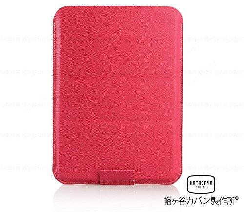 【全6色 汎用ケース】CLUTCH FIT ホット ピンク(iPad, iPad Air シリーズ その他 9 .7〜10 .1 インチ タブレット PC 用 薄型 軽量 スタンド 機能 タブレットスリーブケース)幡ヶ谷カバン製作所