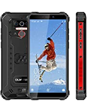 Rugged Cell Phone Unlocked WP5 pro, 8000mAh Battery, Android 10 Rugged Smartphone, 5.5 Inch 4GB RAM+64GB ROM