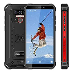 🏆【Rugged and waterproof smartphone】 the companion of industrial worker and outdoor sports enthusiast. With its ultra solid, strong and reliable design (1.5 meters fall-resistant and waterproof; 99% dust-proof; resistance to high and low temperatures ...