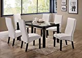 Kings Brand Furniture - Rectangle 7 Piece Kitchen...