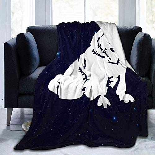 Chow Chow Dog Blanket Soft Cozy Wearable Cloak for Adults Kids Dorm 50x60 inch