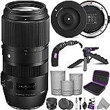 Sigma 100-400mm f/5-6.3 DG OS HSM Contemporary Lens for Nikon F + Sigma USB...