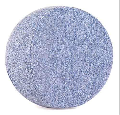 MAHALAXMI Almohada de espuma viscoelástica, alivio del dolor de piernas, espalda, molestias del embarazo, ciática, artritis. Cojín ergonómico de rodilla para dormir de lado (azul)