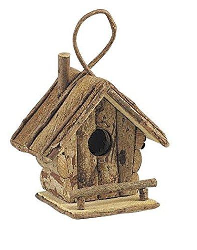 Nichoir à oiseaux en bois à suspendre