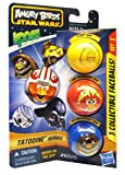 Baby Alive 599386031 - Pack 3 Bolas Hasbro Angry Birds Star Wars