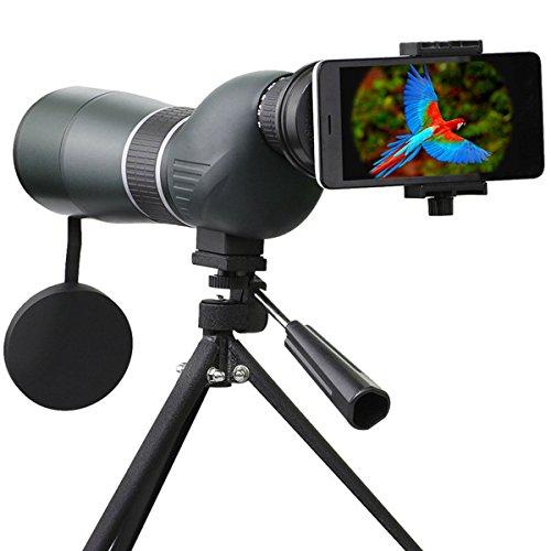 Telescopio Monocular, SGODDE 15- 45 x 60 Zoom impermeable monocular telescopio de...