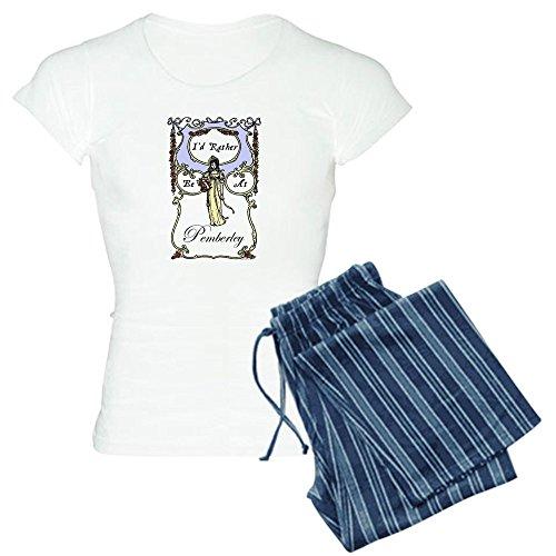 CafePress Jane Austen Gift Womens Novelty Cotton Pajama Set, Comfortable PJ Sleepwear