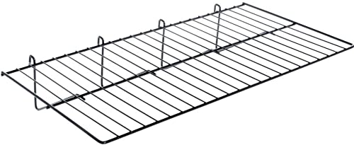 "Grid Panel Display Shelf - Econoco - Clothing Display Rack Grid, Heavy Duty Shelves, 12""D x 23-1/2""L Straight Shelf f..."
