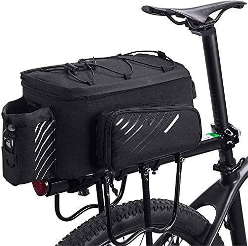 WYZQ Bicycle nier Bag, Bicycle Bag Rear Shelf Bag Large-Capacity Mountain Bike Piggyback Bag Bicycle Tail Bag 12L,Hydration Packs