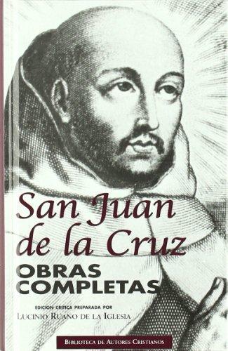 Obras Completas De San Juan De La Cruz by Santo Juan De La Cruz - Santo -(1994-10-01)