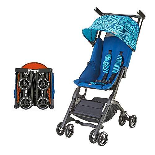 GXGX Buggy kinderwagen reisbuggy kinderbuggy met ligfunctie inklapbaar - 6 tot 36 maanden - voor buiten en met het vliegtuig - kan in de koffer worden gelegd