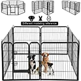 Dog Pen Extra Large Indoor Outdoor Back or Front Yard Fence Cage...