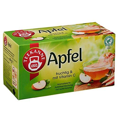 Teekanne Apfel 60g 20 Beutel