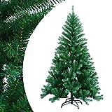 Hengda Sapin de Noël Arbre Artificiel Deluxe Fabrication de qualité supérieure,avec Stand Décoration de Noël Idéale pour Fête Familiale, Bureau, Magasin, Extérieur(150cm Vert)