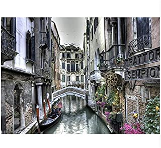 40x50cm Wall Pictures For Living Room Drawing By Number Painting By Numbers Classical Town Scenery