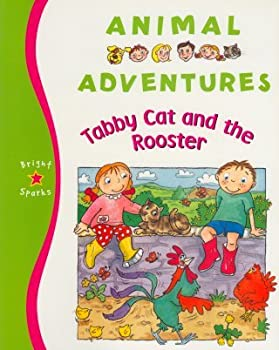 Paperback Tabby Cat and the Rooster (Animal Adventures) Book