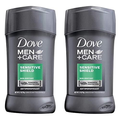 Dove Men+Care Antiperspirant Stick, Sensitive Shield, 2.7 Ounce (Pack of 2)
