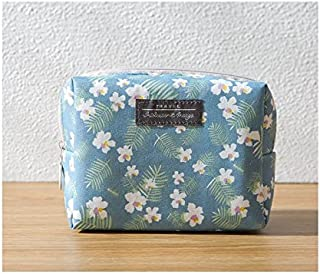 Polykor Fashion Fashion Foldable Storage Bag Cosmetic Pouch Bag Wash Bag Make-up Bag for Women(Blue)