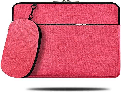 Alfheim 14 Zoll Laptop-Hülle Aktentasche, Wasserdicht Stoßfest Leichte Tasche mit Zubehörtasche, Notebook-Schutzhülle mit Abnehmbarer Kleiner Tasche, für MacBook Air/MacBook Pro/Surface