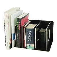 ブックスタンド マガジンファイル 書類立て 木製 仕切り 縦置き シンプル 書類ホルダー 組み立て式 本/雑誌/ノート整理 デスク収納 文房具 オフィス用品 寝室 3カラー