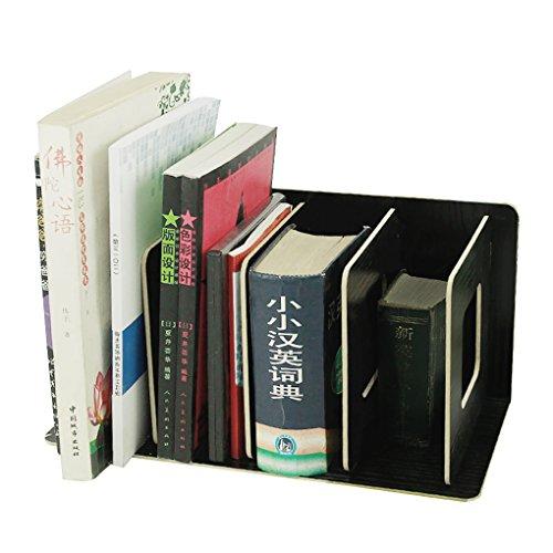 Preisvergleich Produktbild Stehsammler Abnehmbar Stehordner Zeitschriftensammler aus Holz DIY Archivsammler Schreibtischorganizer mit 4 Fächer Katalogsammler für Buch Magazin CD Halter