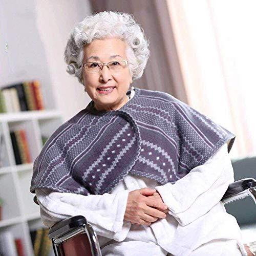 YUEHAI Más Chal de Terciopelo Grueso para el Cuidado de la Silla de Ruedas, Manta cálida para el Hombro del Paciente, Adecuada para Productos de Cuidado de Ancianos