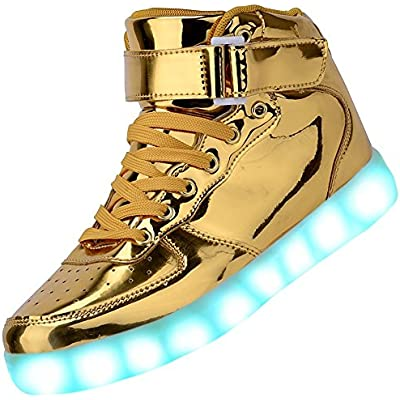 Flashing Trainers USB Charging Lace