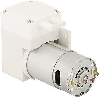 Mini Vacuum Pump,6mm Tube 12v DC High Pressure Air Vacuum Pump,Noiseless, Suction Capacity 70L/ min,for Cosmetic Instrument, Vacuum Packaging Machine