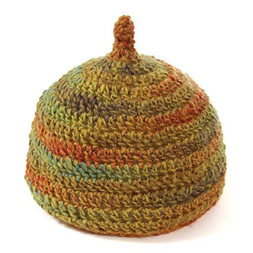 やわらか どんぐり帽子 手編み の かわいい グラデーション タイプ ベビー から 大人 まで (06 【 マスター...
