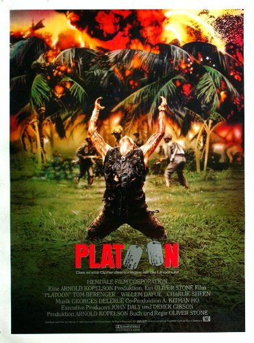 PLATOON MOVIE POSTER PRINT APPROX SIZE 12X8 INCHES by 12X8 INCHES