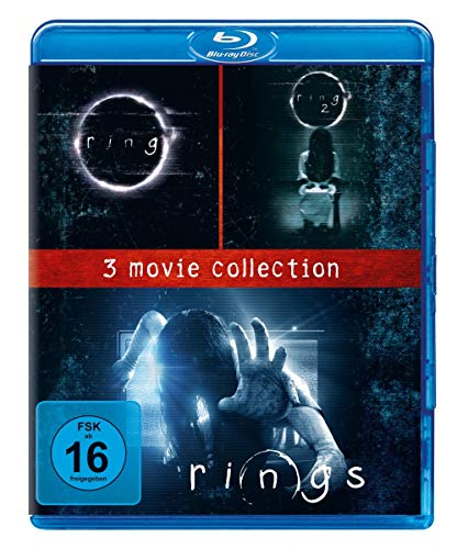 Rings - 3 Movie Collection [Alemania] [Blu-ray]