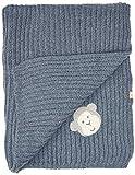 Bellybutton mother nature & me Unisex Baby Geschenkbox mit Krabbeldecke Bekleidungsset, Blau (Denim Blue|Blue 8190), One Size (Herstellergröße: 00)