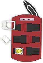 LALAN SIM Card Holder, Nano SIM,Micro SIM,Mini SIM Storage Case, Including Smartphone Tray Opener Pin