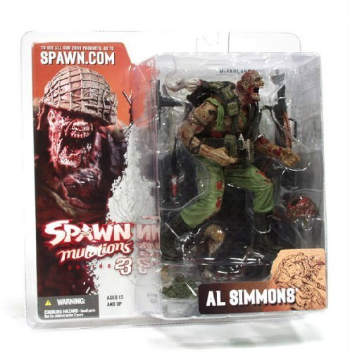McFarlane Toys Spawn Mutations Series 23 Action Figure Al Simmons by McFarlane Toys