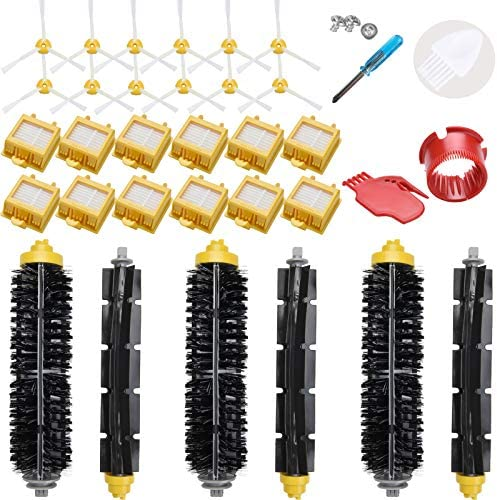 LOVECO Replacement Filter and Brush Kit for iRobot Roomba 700 Series 760 770 780 790 Accessory product image