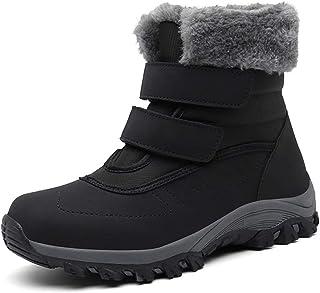 Botas de Nieve Hombre Mujer Invierno Botines cálidos Impermeable Antideslizante Senderismo al Aire Libre Trekking Zapatos,...