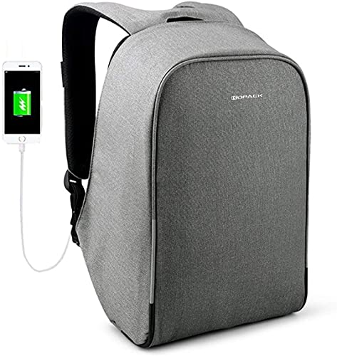 KOPACK Waterproof Anti-Thief Laptop Backpack USB Charging Port Business Travel Backpack Bag Men...